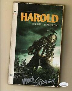"Mark Steger Autograph Signed 8x10 Photo - Scary Stories ""Harold"" (JSA COA)"