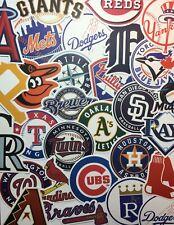 MLB Team Stickers Baseball Major National Leagues Cardinals, Rangers, Yankees +