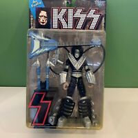 1997 Mcfarlane Kiss ACE FREHLEY Ultra Action Figure w/ Space Sled Guitar