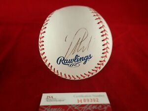 Manny Machado Padres Signed Autographed Official ML Baseball - JSA H89392