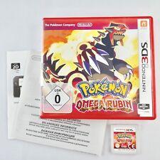 Pokémon: Omega Rubin |Nintendo 3DS |Mit OVP & Anleitungen |Guter Zustand