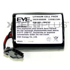 Visonic Siren Battery Mcs-740 Sr-740 Pg2 PowerMax Bell Box 2xer18505m 3.6v & 4.0ah