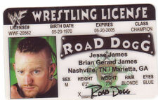 Road Dogg novelty collectors card Drivers License road dog wwf wwe wcw