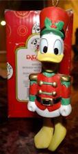 Donald Duck Nutcracker Bell Hanging Ornament, Enesco 655155, Mickey & CO.