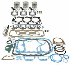 Made to Fit FORD 555 BACKHOE ENGINE OVERHAUL KIT 201 CID WITH VALVE TRAIN
