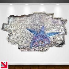 GIANT TURTLE ANIMAL ENDANGERED SEALIFE Wall Sticker Vinyl Decal Mural Poster