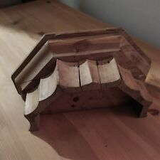 Capitello legno antico