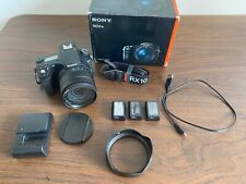 Sony Cyber-Shot DSC-RX10M3 20.1MP Digital SLR Camera with 3in Display - Black