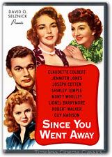 Since You Went Away DVD New Claudette Colbert Jennifer Jones Shirley Temple