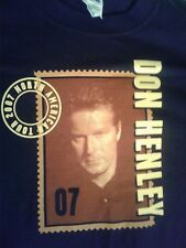 Don Henley 2007 Tour Shirt, North American Tour, Rare, Anvil Tag, Eagles