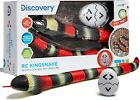 Discovery Kids Remote Controlled King Snake Realistic Slithering with LED Eyes