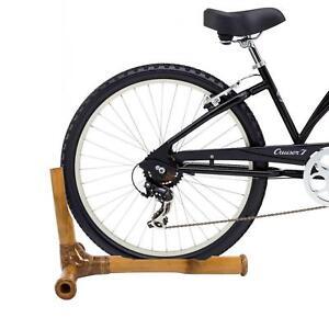 BAMBUS Fahrrad Abstellständer Aufbewahrung Halterung Austellung handmade Ständer