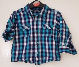 Boys Age 9-12 Months - Long Sleeved Shirt