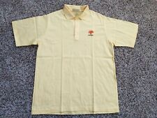 Pga West Cross Creek Vintage Polo Shirt Made In Usa Yellow New Without Tags Sz M