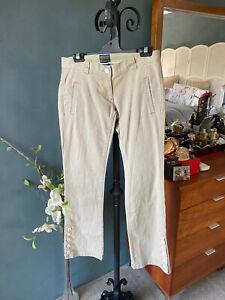 "VINTAGE Polo Jeans Company Ralph Lauren Stretch Beige Tan Jeans Size 2/30 26.5"""