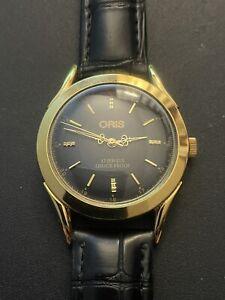 montre luxe homme swiss made ORIS mécanique 17 Jewels en très bon état