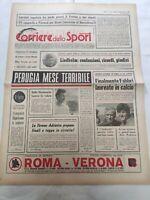 CORRIERE DELLO SPORT 27-1-1979 PERUGIA LIEDHOLM GARONZI VERONA PAOLO ROSSI