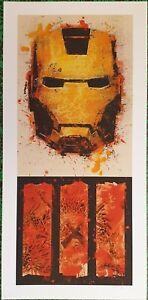 BASK - Art Print - Iron Man 3 - Box Office Edition - Printer Proof - 2013