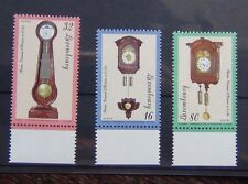 Luxembourg 1997 Clock Set MNH