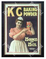 Historic K C Baking Powder 1890s Advertising Postcard