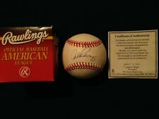 ALEX RODRIGUEZ AUTOGRAPH BALL RAWLINGS OFFICIAL AMERICAN LEAGUE AROD AUTO