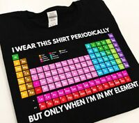 Periodic Table Elements funny TBL The Big Lebowski Donny black t-shirt 9117