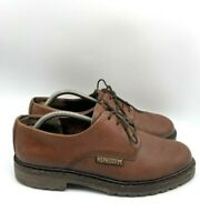 Mephisto Mens Lace Up Oxford Leather Dress Shoes Brown Size 8.5M