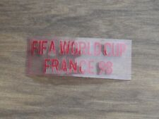 WORLD CUP FRANCE 1998 RED MATCH DETAIL DANMARK AWAY WHITE JERSEY RARE