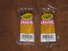 Set of (38)- 4 ct pkg Crayola Crayons Teacher Preferred Assorted Blues New