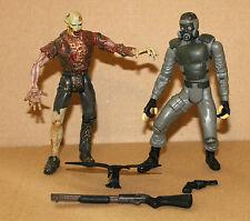 Residente Evil HUNK & Zombie Action Figure personaje Toy Biz toybiz