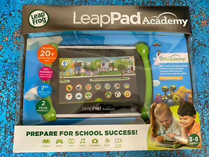 "LeapFrog LeapPad Academy 7"" 16GB Kids Learning Tablet Green"