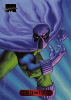 PROWLER / 1994 Marvel Masterpieces (Fleer) BASE Trading Card #91