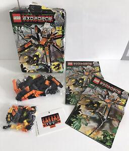 Lego Exoforce Set 8110 - Arachnoid Stalker Complete In Original Box