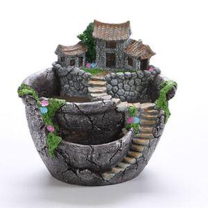 Flower Pot Garden Design Flower Basket Succulents Plants Holder House Bonsai Pot