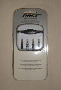 BOSE Black QuietComfort 3 Mobile Communications Kit Portable NEW