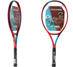 Yonex VCORE GAME 100 Tennis Racquet Racket Red 100sq 270g(9.5oz) G2 16x18 TAGR