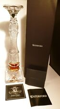 """*NEW* Waterford Crystal GOLDEN AGE (2018) Candle Stick 16 1/4"""" NIB JORGE PEREZ"""
