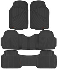 Motor Trend Max-Duty Van Truck Floor Mats Black Odorless All Weather Full Set