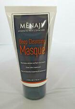 Menaji Deep Cleansing face Masque 75ml clear skin treatment NEW MEN impurities