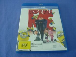 Despicable Me Blu-ray 3D Free Postage