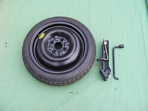SPACE SAVER SPARE WHEEL AND TYRE + JACK AND SPANNER   CITROEN C1 2006-2019