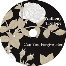 Can You Forgive Her? Anthony Trollope English Politics Audiobook on 2 MP3 CDs