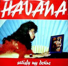 "12"" - Havana - Satisfy My Desire (HI NRG) NUEVO - NEW, STOCK STORE"