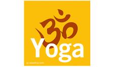 YOGA OM Magnet Bumper Sticker Indoor Outdoor Namaste meditation sanskrit ahimsa