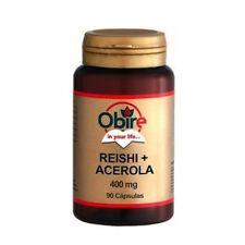 OBIRE REISHI  + ACEROLA  90Caps antioxidante medicinal