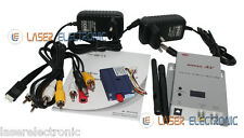 Kit Trasmettitori Wireless a Lungo Raggio 2.4Ghz. 700mW 700mt + Ricevitore 8CH