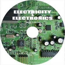 ELECTRICITY & ELECTRONICS: Courses Manuals Oscilloscope Antenna Auto Marine CD
