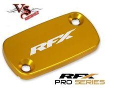 RFX Front Brake Reservoir Cover Cap HONDA CR80 CR85 92-07 CR125 92-07 GOLD