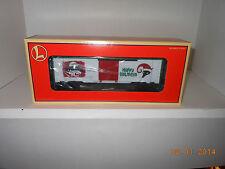 LIONEL #26208 vapor records happy hoilday boxcar
