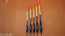 5 x POSEN 4,6,8,10,12g EXPERT PROFESSIONAL WAGGLER aus BALSA-HOLZ-TOP MODELL ! 5